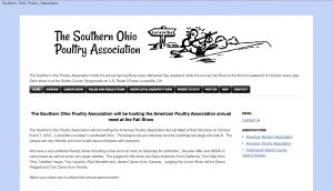 Southern Ohio Poultry Association Website