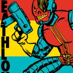Deathlok Coloring - Original Art By Chris Haley
